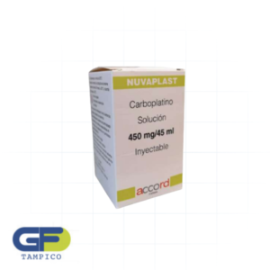 Carboplatino 450mg C/1 Amp. (Nuvaplast)(Accord)