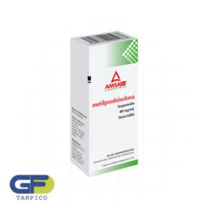 Metilprednisolona 40mg/ml Iny. (Amsa)