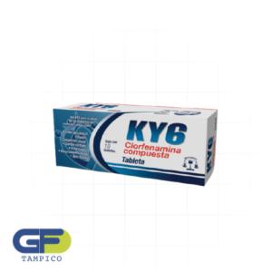 Paracetamol/ Cafeina/ Fenilefrina/ Clorfenamina 500/25/5/4mg C/10 Tab. (KY6)