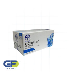 Tacrolimus 1mg C/50 Cap. (Octralin)(Raam)