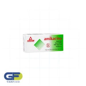 Amikacina 100mg/2ml Iny. C/2Amp (Amsa)