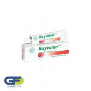 Clotrimazol/Dexametasona 1/0.04g/1g C/Tubo 30g (Baycuten)(Bayer)