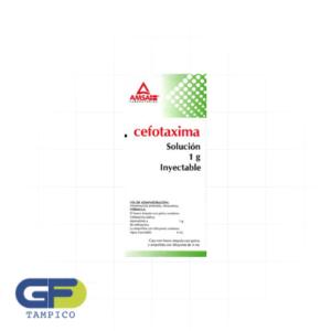 Cefotaxima 1gr IV Fco. Amp. (Amsa)