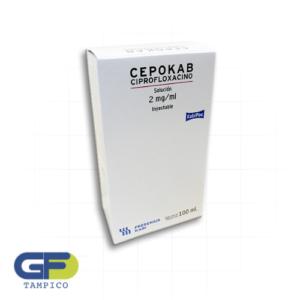 Ciprofloxacino 200mg/100 Ml Sol. Iny. (Cepokab) (Fresenius Kabbi)