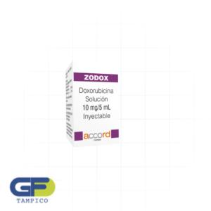 Doxorrubicina 10mg/5ml sol iny (Zodox)