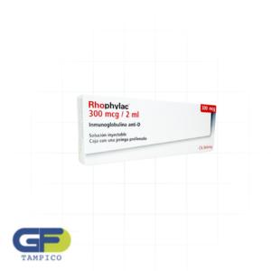 Inmunoglobulina Humana Anti-D 300mcg/2ml jeringa prell (Rhophylac)