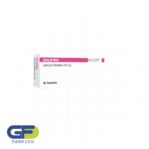 Letrozol 2.5 mg C/30 Tab. (Zolstro) (Accord)